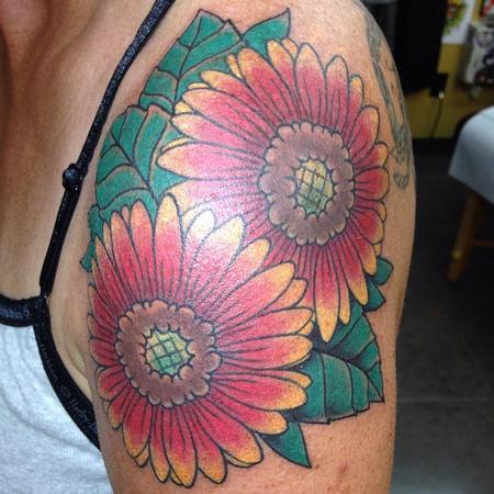 Tattoos - Sun Flowers - 102226