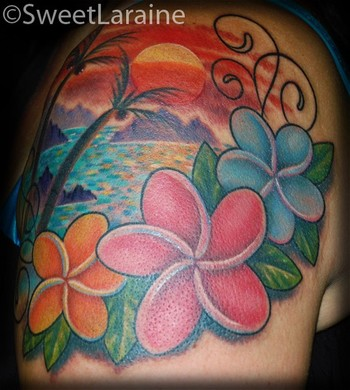 Looking For Unique Sweet Laraine Tattoos Hawaiian Paradise