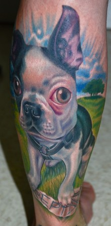 Tattoos - Boston Terrier