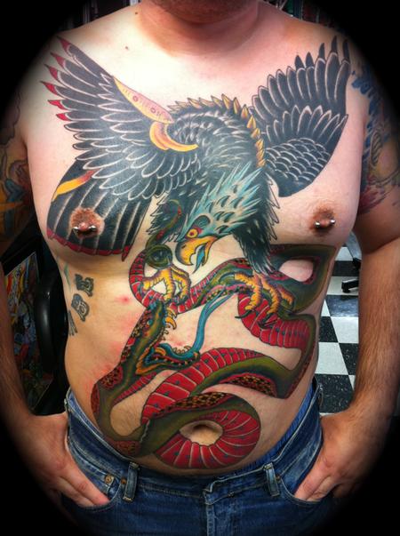 Tattoos - Eagle Snake Rumbla - 68866