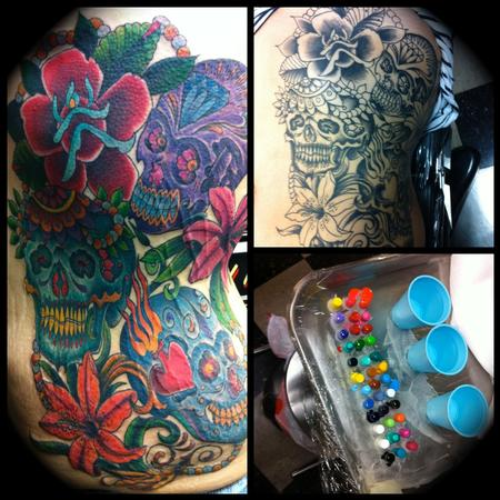 Tattoos - Day of the Dead. - 68872