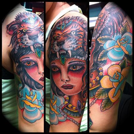 Tattoos - Tiger Babe - 68873