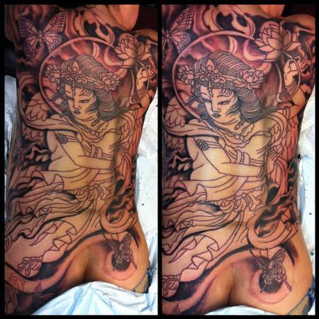 Irish laddie by jedidia tattoonow for Element tattoo san antonio