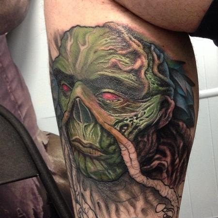 Swamp Thing Tattoo Design Thumbnail