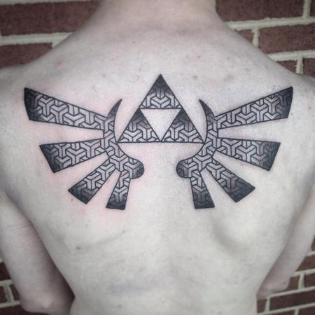 Tattoos - Geometric Zelda - 122121