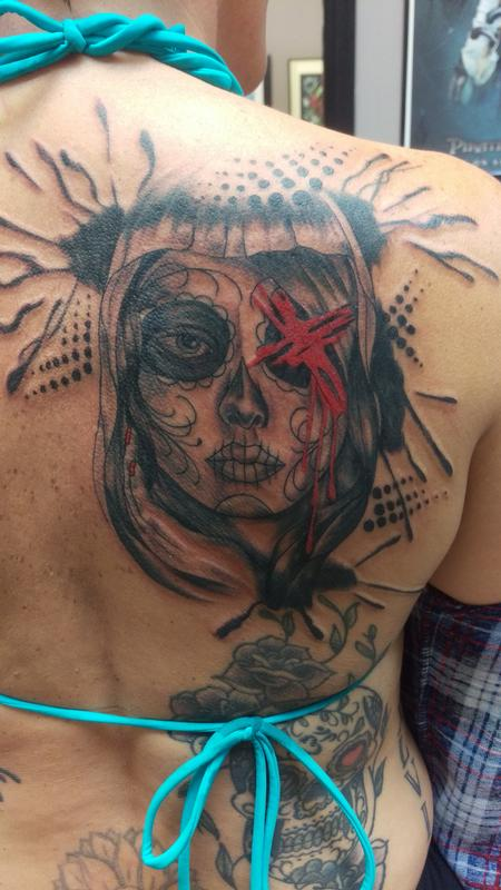 Tattoos - suger skull - 111660