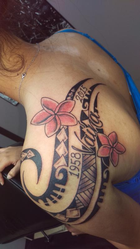 Tattoos - polynesian tribal - 111661