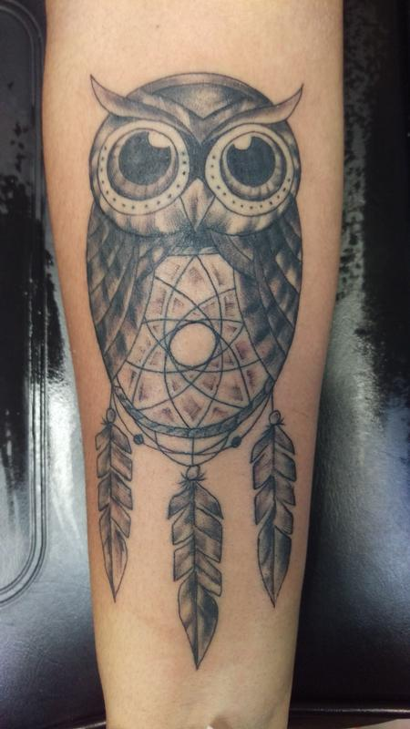 Tattoos - owl - 111681