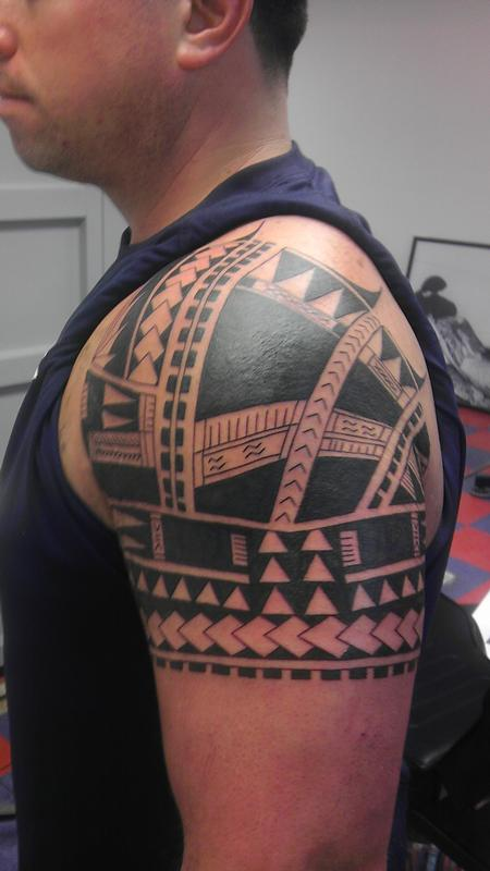 Tattoos - polynesian tribal - 100004