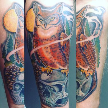 Owl & Skull Design Thumbnail