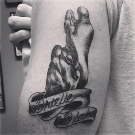 Tattoos - Baby Feet - 114608