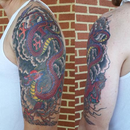Tattoos - Dragon Sleeve - 122964