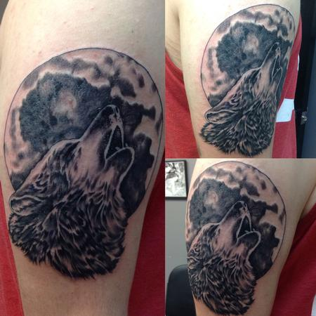 Tattoos - Howling Wolf - 109233