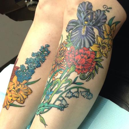 Tattoos - Floral Cover Up - 124905