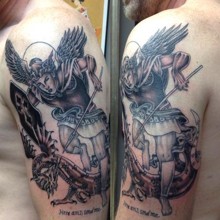 Tattoos - St. Michael  - 125515