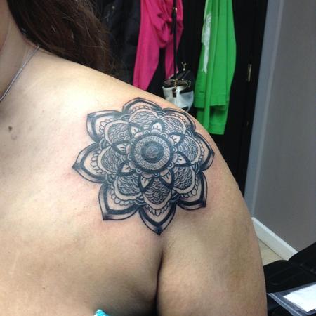 Tattoos - Mandala - 126388