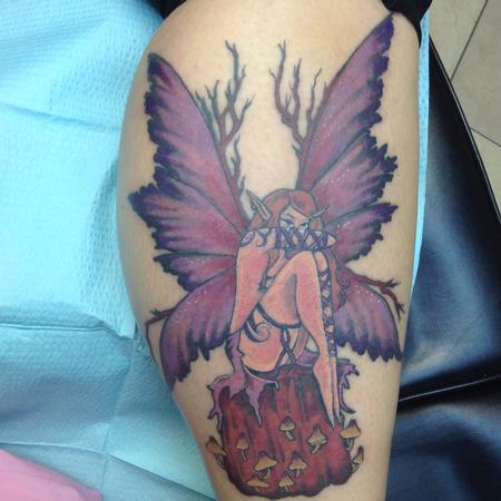 Tattoos - Amy brown tattooed wood fairy - 126902