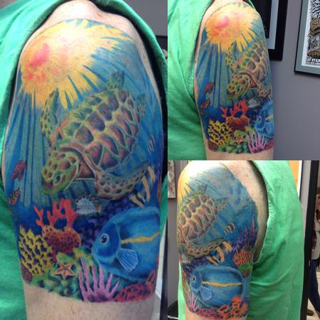 Tattoos - Sea Turtle - 109409