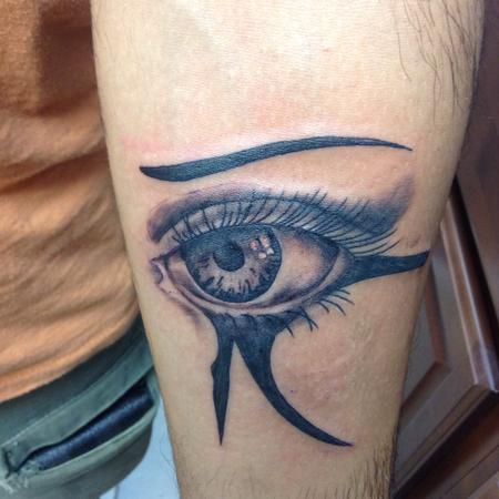 Tattoos - Egyptian Eye - 109410