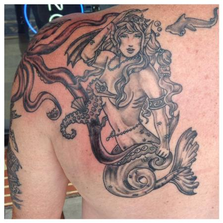 Tattoos - Mermaid - 95565