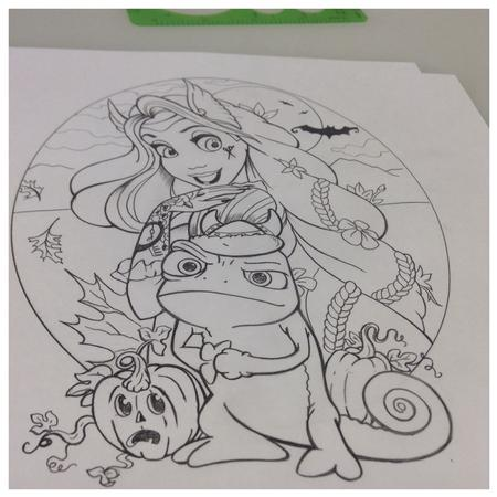 Tattoos - Halloween Tangled - 96184