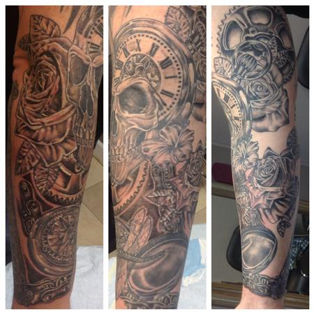 Tattoos - Jason's Sleeve - 100002