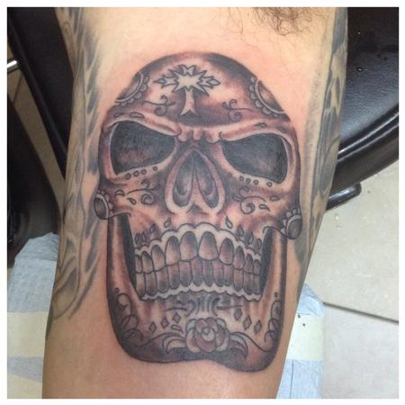 Dead Skull Tattoo Design Thumbnail