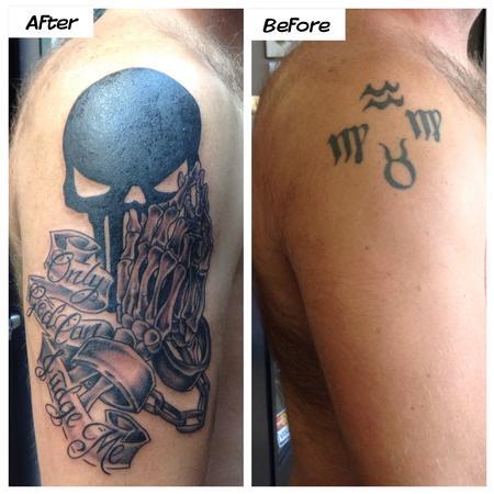Tattoos - Punisher - 106687