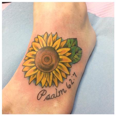 Tattoos - Psalm 62:7 - 108446