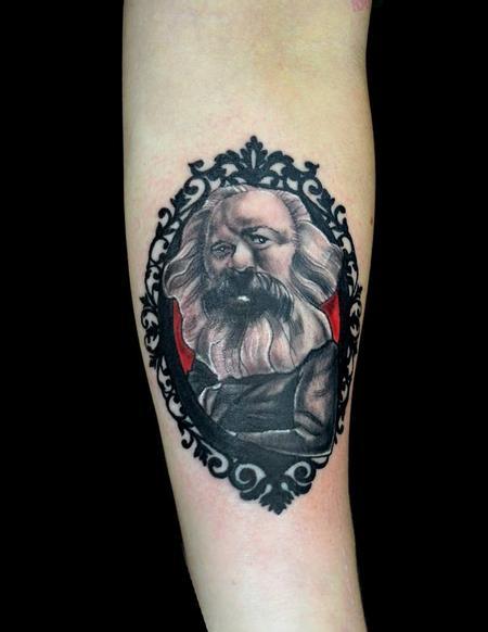 Tattoos - Karl Marx Cameo - 95434
