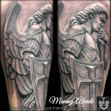 Tattoos - Angel Statue - 99915