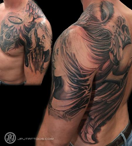 Tattoos - Angel In Progress - 114317