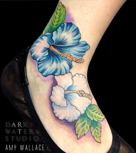 Tattoos - Hibiscus - 125200