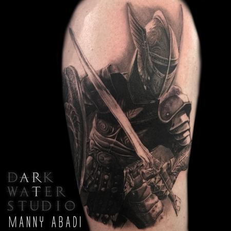 Tattoos - KNIGHT - 114760