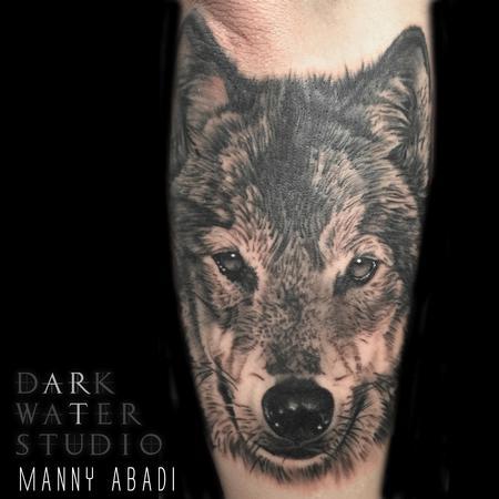 Tattoos - Wolf  - 115637