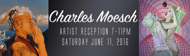 Charles Moesch Artist Reception Web Banner