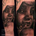 Child Portrait Tattoo Design Thumbnail