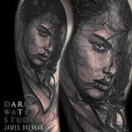 PORTRAIT Tattoo Design Thumbnail