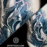 Angel of Darkness Zoom (FREEHAND) Tattoo Design Thumbnail