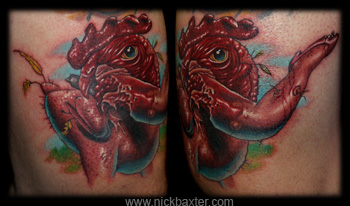 Tattoos - Chicken Vengeance - 5244