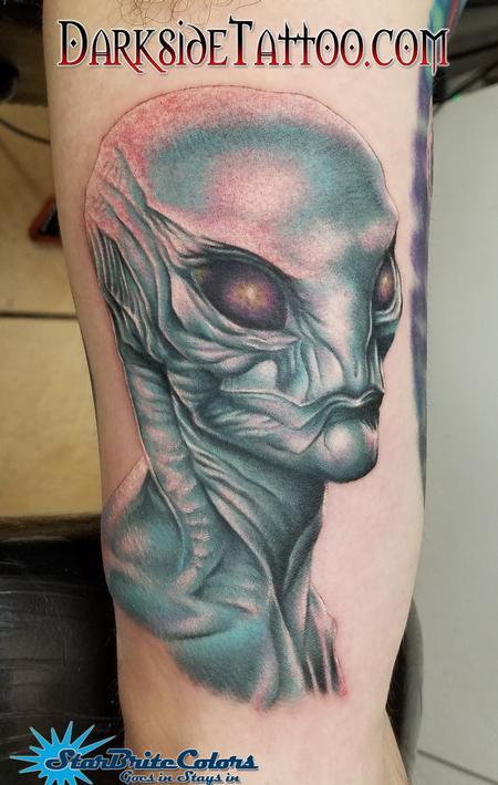 Tattoos - Alien - 127477