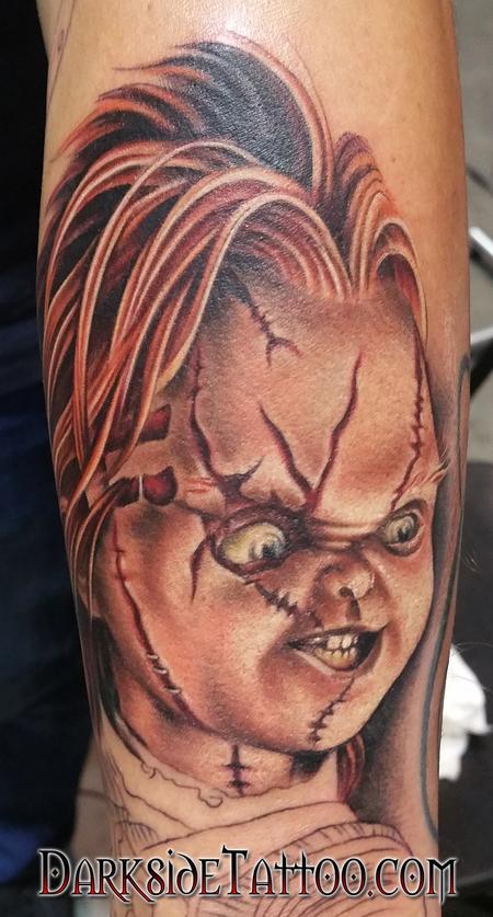 Color Chucky Tattoo Tattoo Design