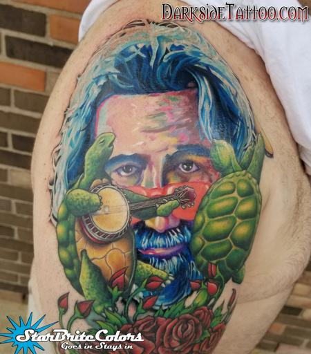 Color Grateful Dead Tattoo