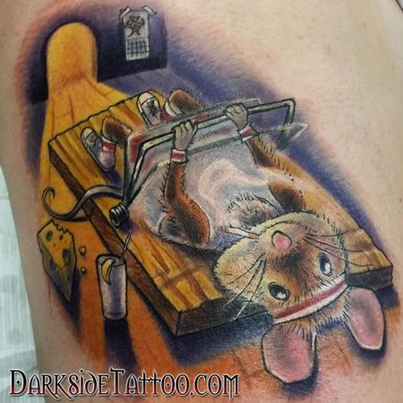 Dave Racci - Color Mouse-trap Tattoo