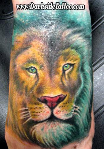 Tattoos - Color Lion - 87360