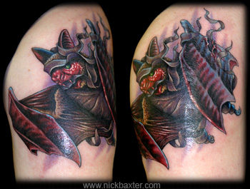 Tattoos - Mummy Bat - 5799