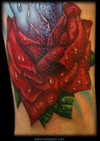 Tattoos - Rose (Detail) - 5802