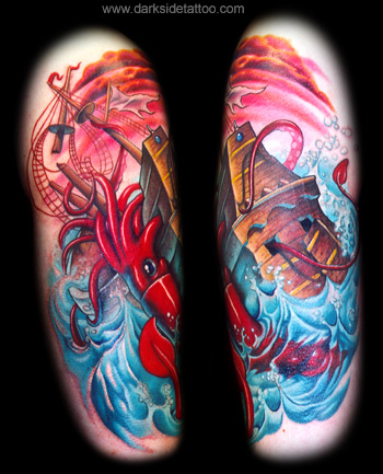 Tattoos - Giant Squid - 3647