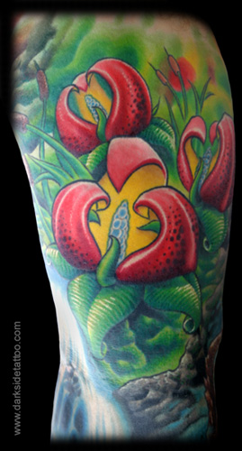 Tattoos - Waterfall (Detail 2) - 4353