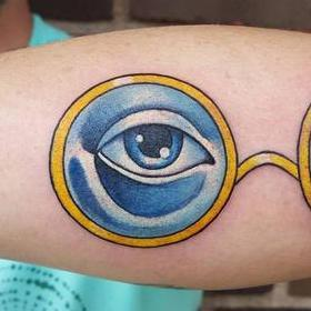 Tattoos - Great Gatsby Eyes - 130038